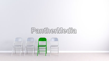 job interview copy space