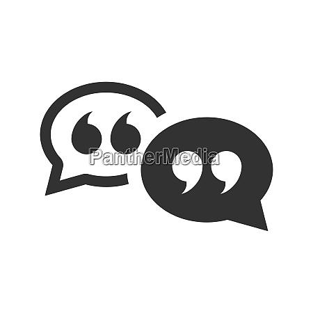 chat messaging oder sms symbol