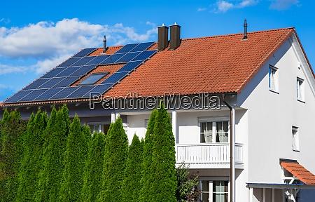 generische haus photovoltaikanlage