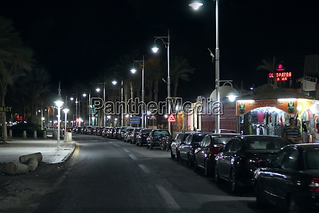 view, of, night, street, of, hurghada - 29085741