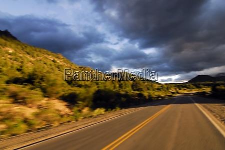 verkehrswege und strassenverkehr in patagonien argentinien