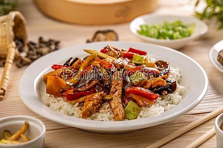 asiatische speisekarte