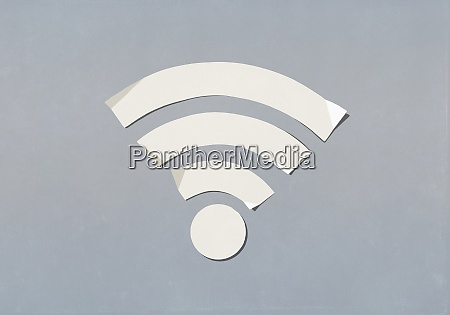 papier wifi symbol