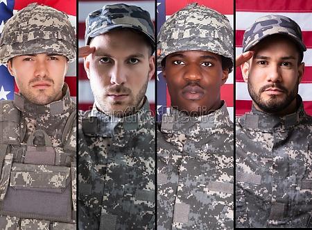 soldier veteran militaerische person headshot portrait