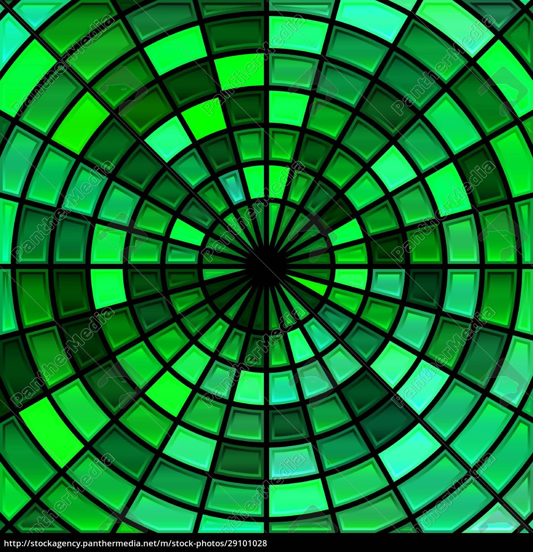 abstrakte, buntglas-mosaik, hintergrund - 29101028