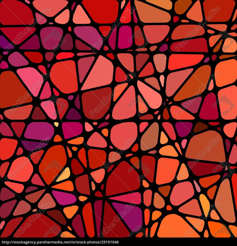abstrakte, buntglas-mosaik, hintergrund - 29101046