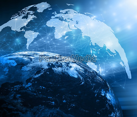 bestes internetkonzept des globalen geschaefts aus