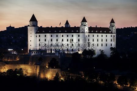 slowakei burg bratislava bratislavsky hrad in