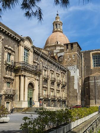 italien sizilien catania universitaet bibliothek