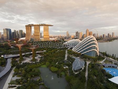 singapur gaerten an der bucht von