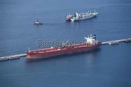 gibraltar hafen tankerschiff