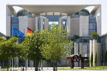 deutschland berlin das bundeskanzleramt