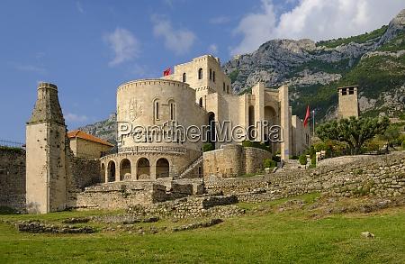 albania, , kruje, , skanderbeg, museum, in, the - 29121432