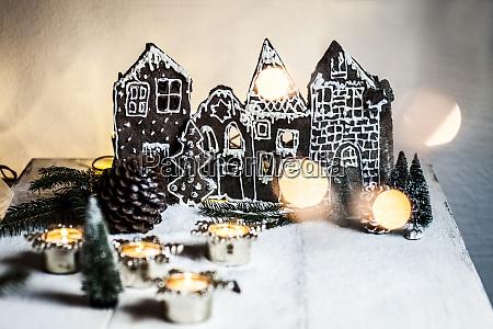 weihnachts lebkuchenhaeuser