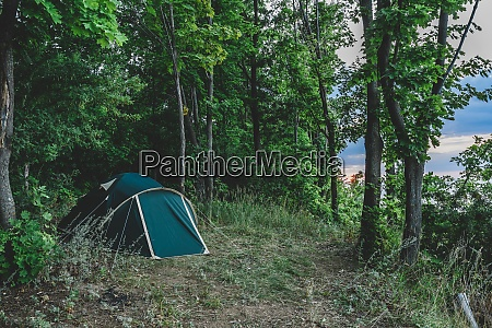 camping in waeldern