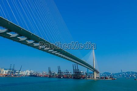 kwai tsing hongkong 21 februar 2020