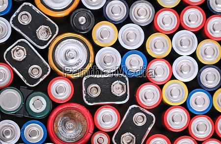 viele batterien r6 batterien mit dem