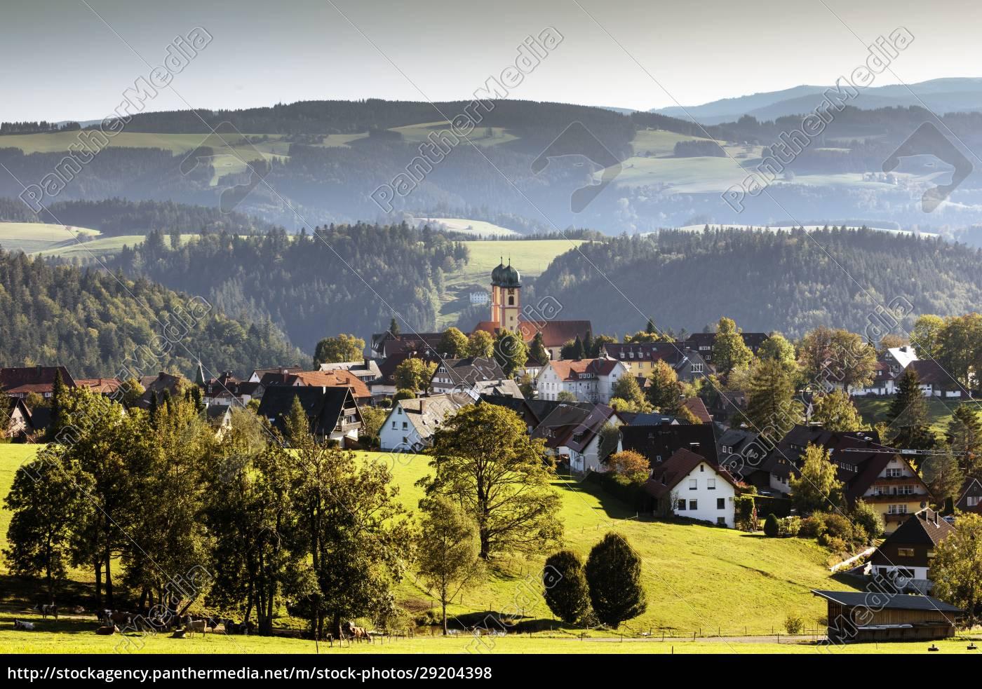 blick, auf, st.märgen, im, schwarzwald - 29204398