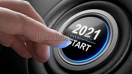 2021 druecken sie den startknopf