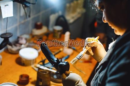 gummiprodukte, fabrik, für, einen, sexshop., arbeiter - 29228042