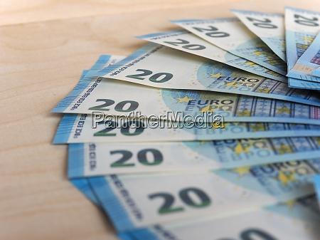 euro banknoten muenzen europaeische union eur