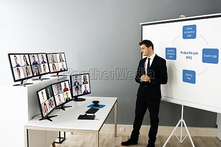 online live training video konferenz mit