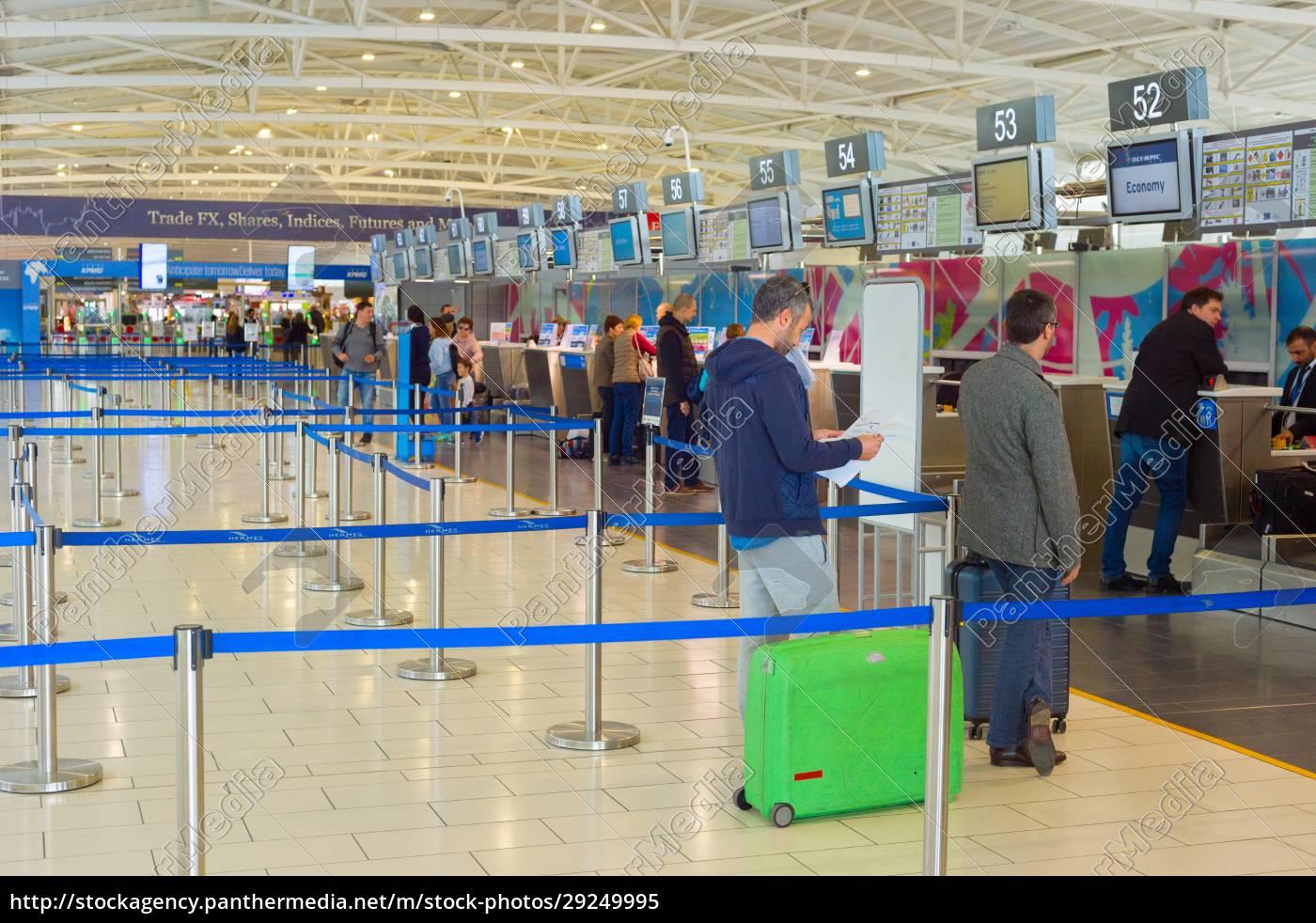 chekin, people, airport, terminal, cyprus - 29249995
