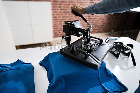 waermeuebertragung t shirt druck tshirt merchandise