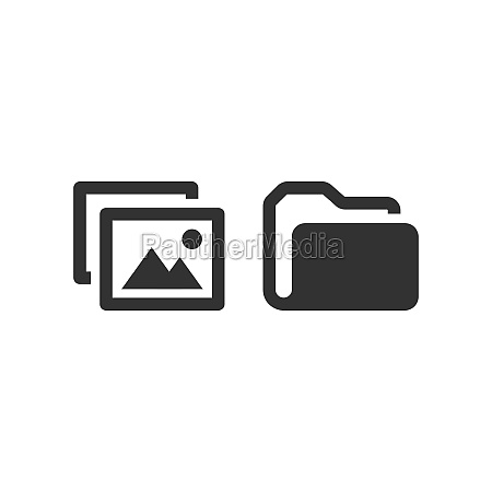 picture, file, and, folder, vector, icon - 29260261