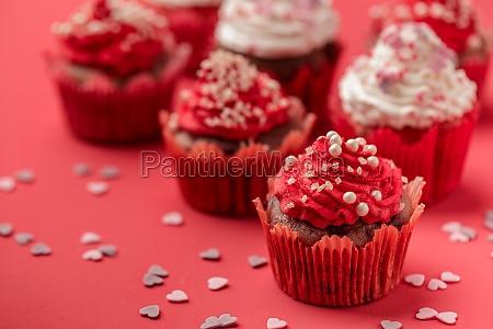 valentinstag liebe cupcake
