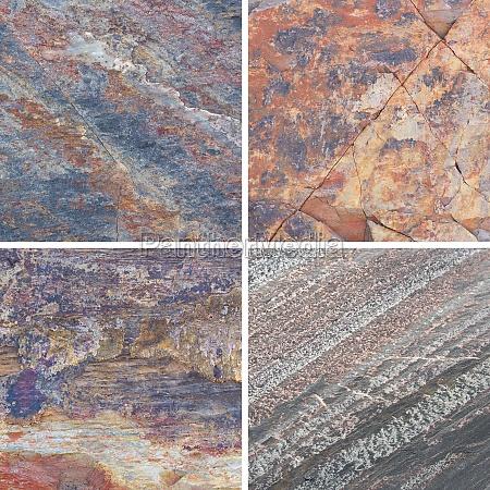 texturen unterschiedlichen stein hintergrund