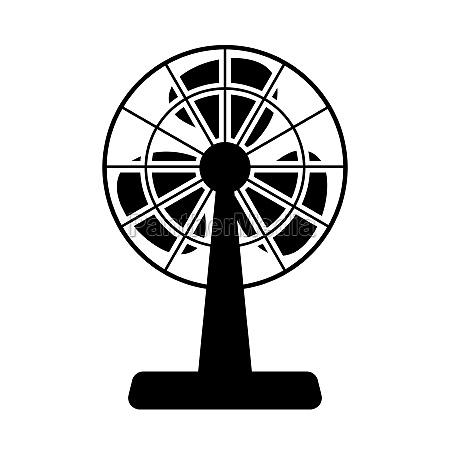 elektrische senfan icon