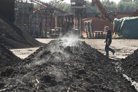 humusproduktion in der landwirtschaft fuer den