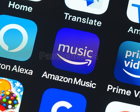 amazon music app symbol auf dem