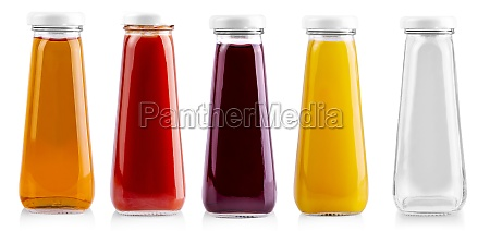 the, glass, bottles, of, juice, isolated - 29320592