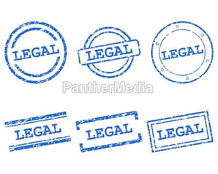legale briefmarken