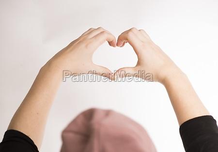 herz symbol der liebe und romantik