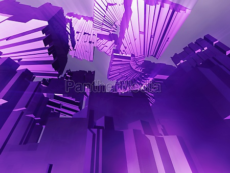 abstraktes muster auf violettem hintergrund