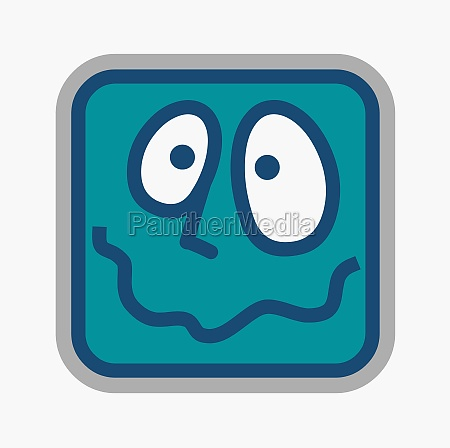 human, face, in, a, square, head - 29378221
