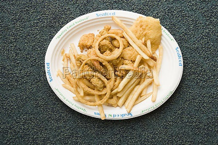 close_up, of, a, plate, of, snacks - 29390867