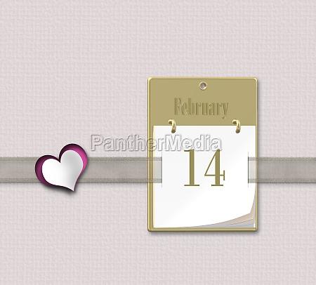 valentinstag kalender14 februar