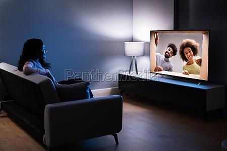 smart led tv im wohnzimmer