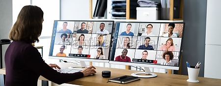 webinar, der, virtuellen, videokonferenz - 29423794