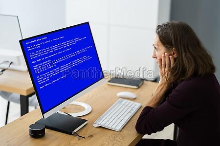 blauer bsod fehler am computer