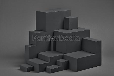 abstrakter hintergrund mit geometrischen figuren