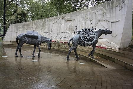 animals, in, war, memorial, london, vereinigtes, königreich - 29461682