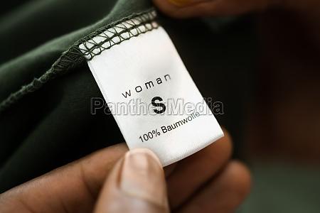 shirt groesse kleidung label symbol