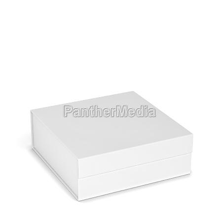 leere magnetisch box paket