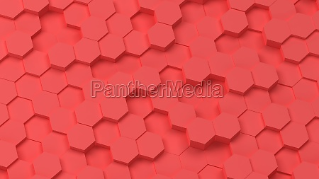 abstract, hexagon, background - 29566356