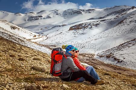 flitterwochen in den winterbergen